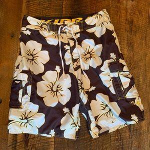 Kirra Men's Swimming Trunks 32 Floral